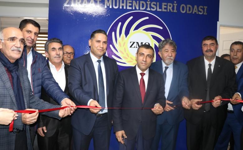 TMMOB Ziraat Mühendisleri Odası Gaziantep Şubesi yeni hizmet binası görkemli törenle açıldı.