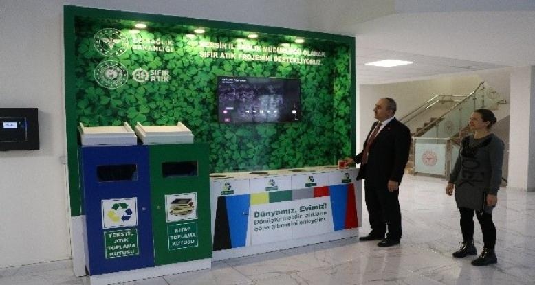 Mersin'de 655 ton kağıt atık toplanarak 11 bin 135 ağaç kurtarıldı