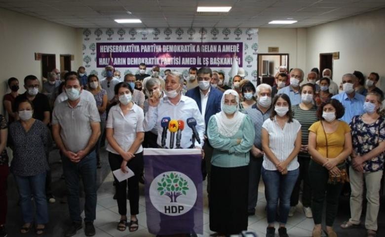 HDP'den operasyonlara tepkiler artarak sürüyor; Susmayacağız!