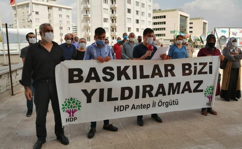 HDP Antep; Saldırılar AKP'nin siyasal intikam saldırısıdır yılmayacağız