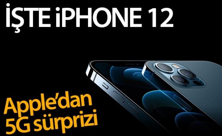 Cep telefonunda Apple iPhone 12 modellerini tanıttı, 5G teknolojisi dikkat çekti