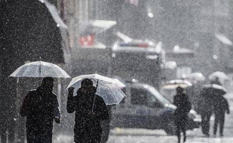 İstanbul'da gök gürültülü sağanak yağış