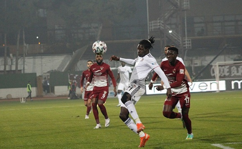 Süper Ligde zorlu mücadele Hatayspor 2 Beşiktaş 2 kazanan çıkmadı