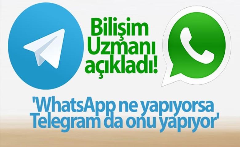 'WhatsApp ne yapıyorsa Telegram da onu yapıyor'