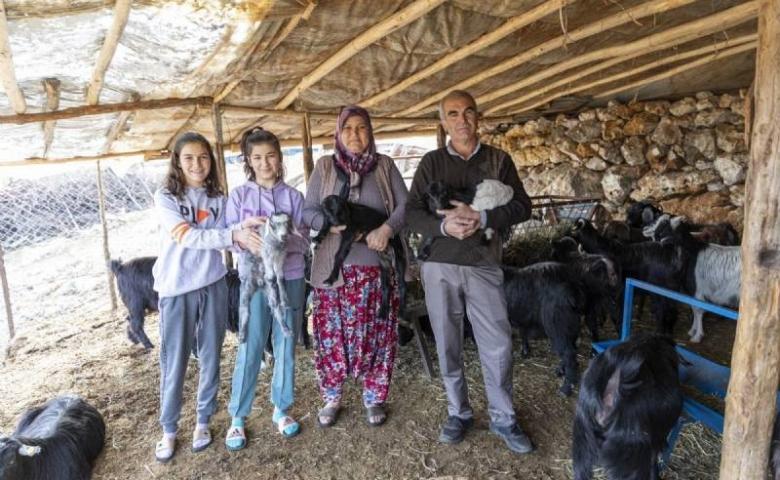 Mersin'de Haydi Gel Köyümüze Destek Verelim Projesi yeni doğumlarla büyüyor