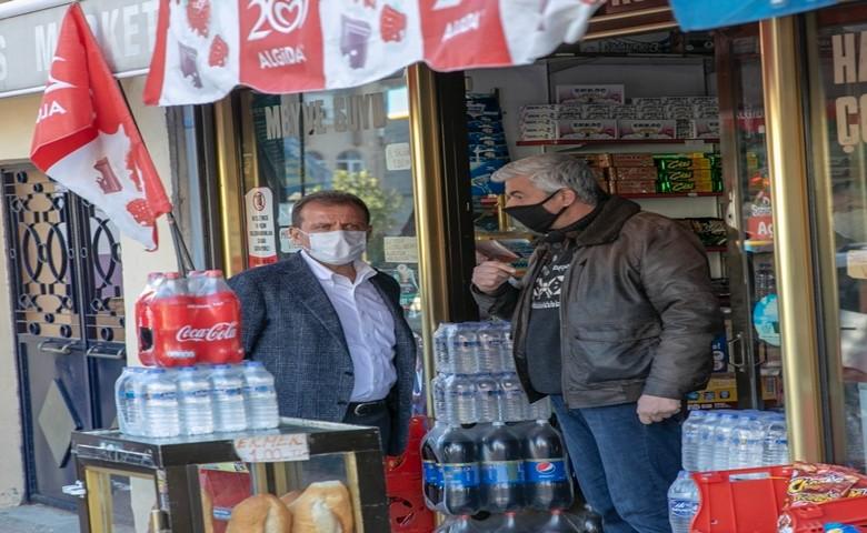 Mersinliler başkan Vahap  Seçer 'e dert yanıyor, iflasın eşiğindeki esnaf çözüm bekliyor