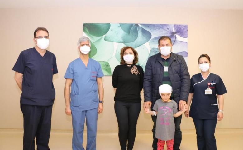Medical Park Gaziantep Hastanesin'de başarılı  ameliyatla küçük kız sağlığına kavuştu