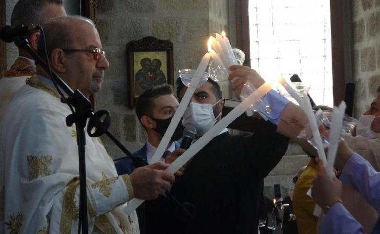 Hatay'da Paskalya Bayramı kutlandı