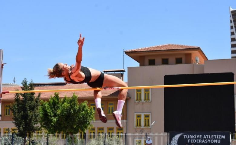 Mersin'de Atletizm Olimpik Deneme Yarışları sona erdi