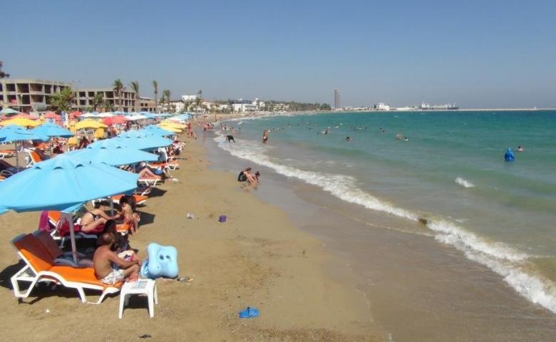 Mersin sahillerinde Kurban bayramı yoğunluğu