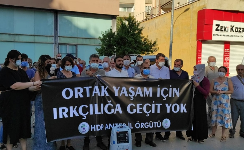 HDP Antep İl Örgütü; Konya'daki katliam iktidarın Kürt halkına yaklaşımının sonucudur