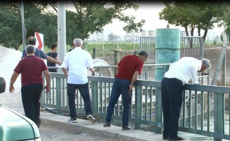Sulama kanalına düşen adam 5 gündür bulunamadı