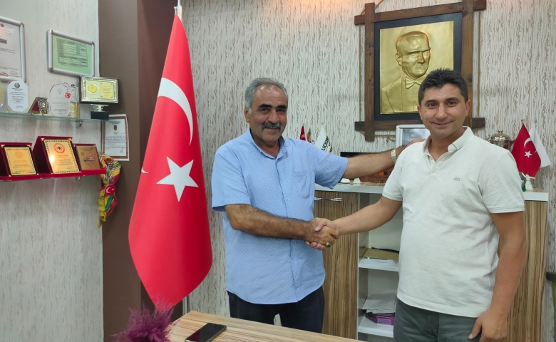 KRN Grup Başkanı Kıran'ın ziyaretçisi eksik olmuyor