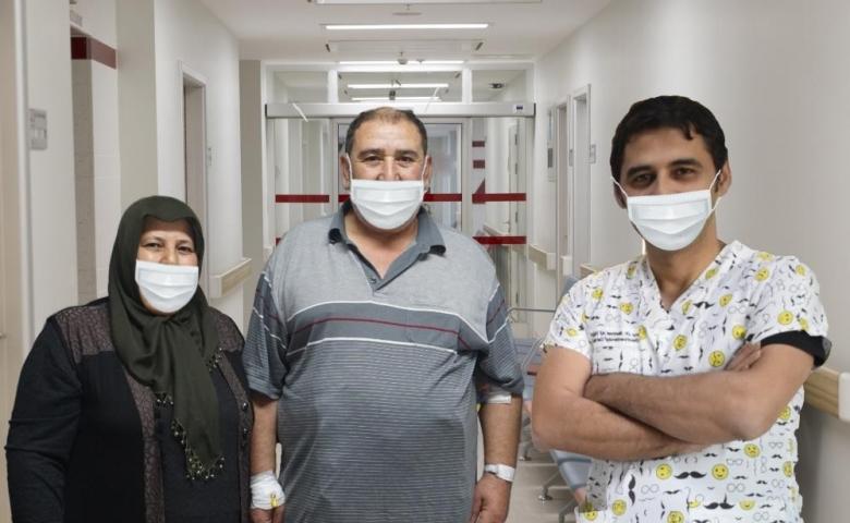 Anka Hastanesin'de 8 yıllık diyabetten ameliyatla kurtuldu