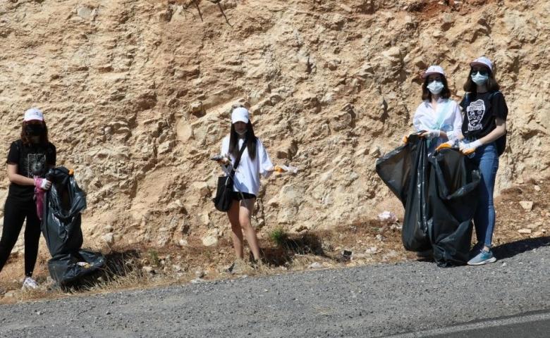Kahramanmaraş'ta 'Dünya Temizlik Günü'nde anlamlı etkinlik