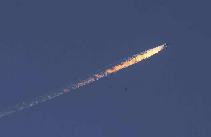 Türkmenleri Bombalayan RUS Uçağı Düşürüldü