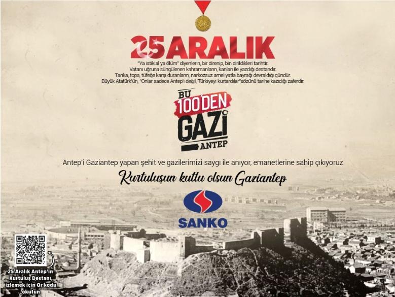 SANKO Holding -25 Aralık Antep'in Kurtuluşu